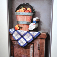 County Time (Still Life with Peaches and Duck) 3D
