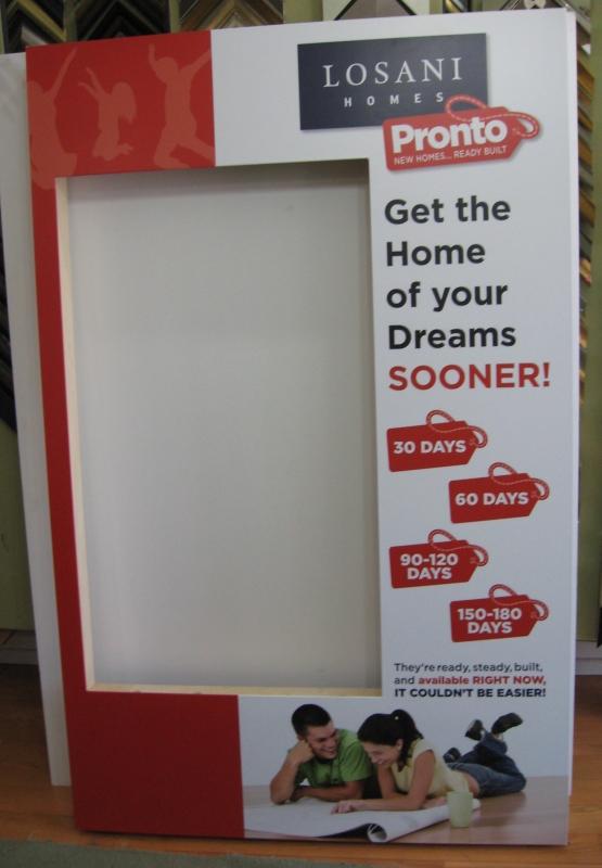 Losani Homes - Display box