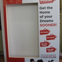Losani Homes - Display box