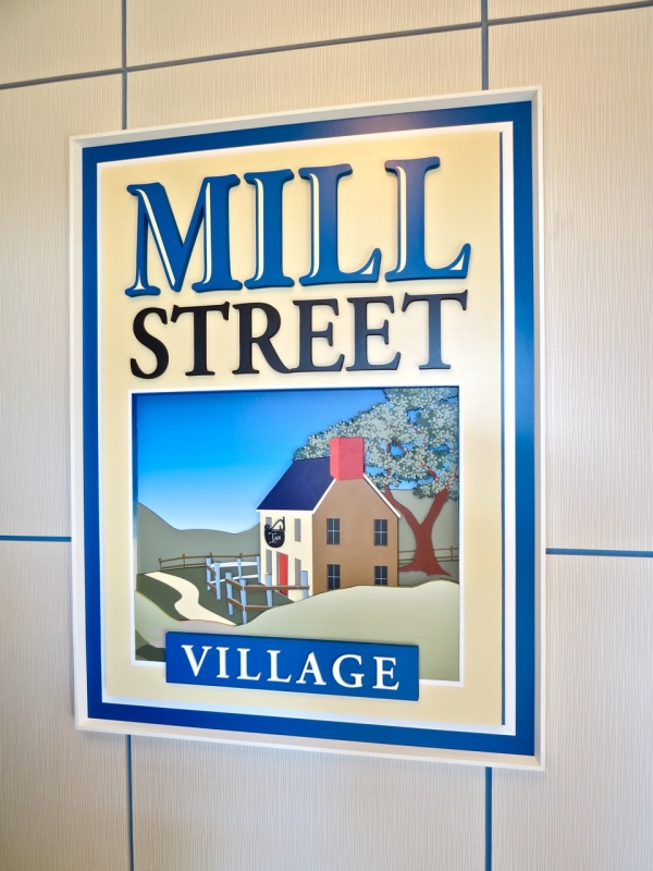 Mill Street 3D Logo