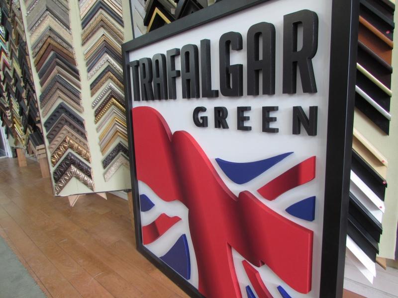 Trafalgar Green 3D Logo (3)