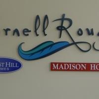 Cornell Rouge 3D Logo