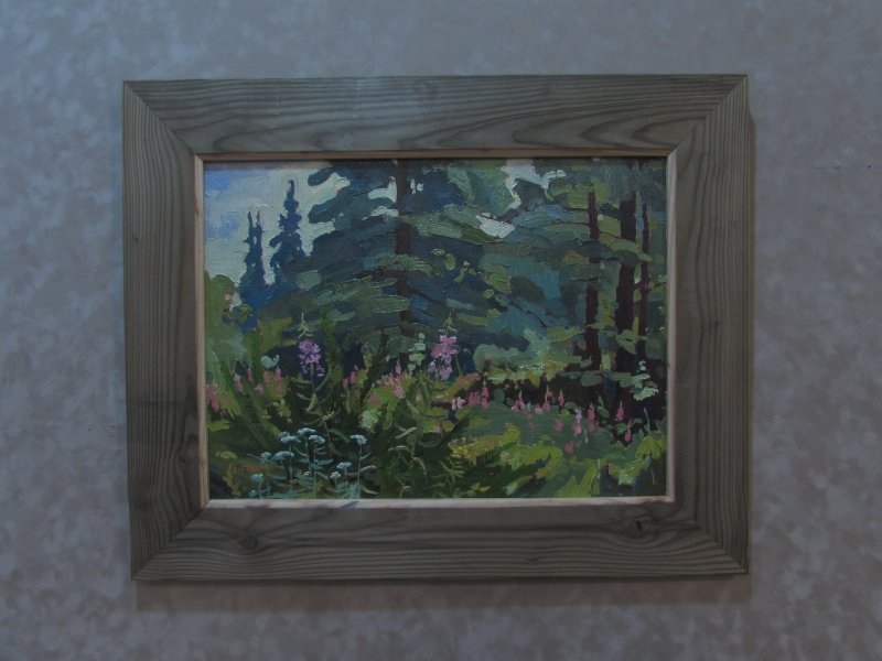 Milled Barn wood Frame