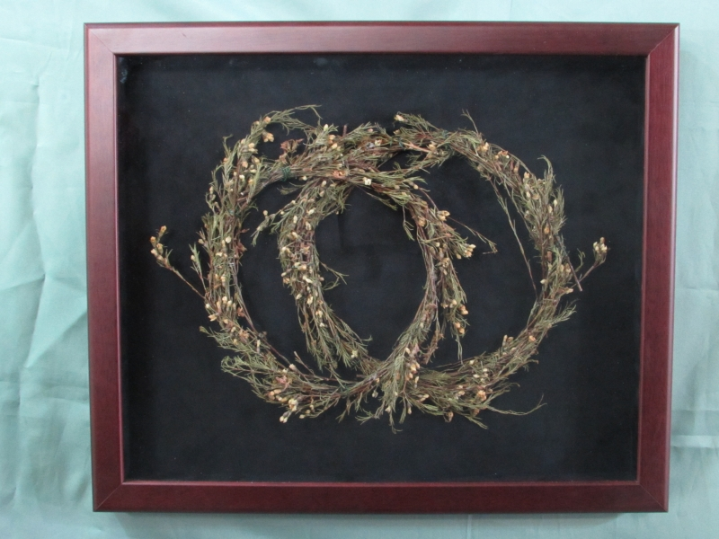 Dried Flower Wedding Wreaths