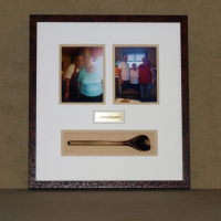 Shadow Box Gramma's favourite spoon 2016