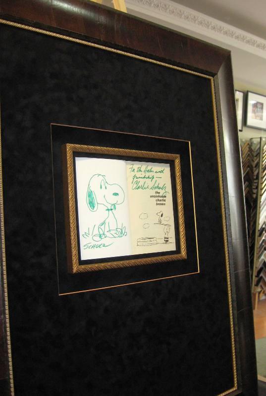 Shultz Charlie Brown book Shadow Box 1