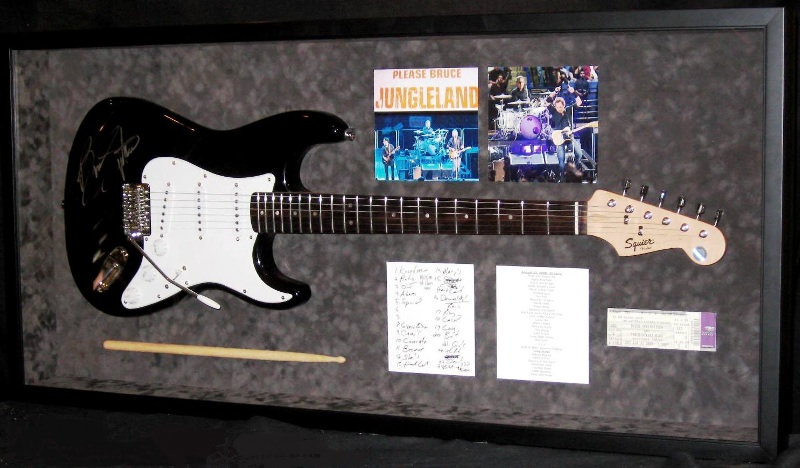 Springstein Guitar Shadow Box