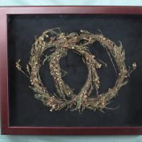 Dried Flower Wedding Wreaths