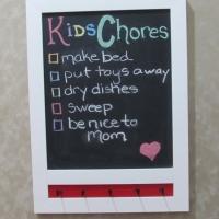 chalkboard w hooks