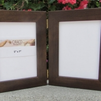 hinged frame