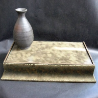 Mottled Floating Shelf