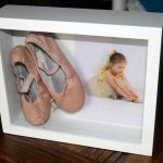 Framed Ballet Slippers