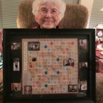 Framed Scrabble