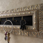 Antique Silver Key Holder