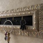 Antique Silver Key Holder