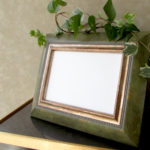 Green Ornate Photo Frame