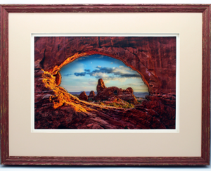 Turret Arch 3d Pop Up Art Utah National Park Wooen Framed Shadow Box One of a Kind